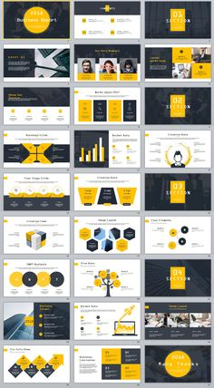 27+ yellow business Year plan PowerPoint Template on Behance #powerpoint #templates #presentation #animation #backgrounds #pptwork.com #annual #report #business #company #design #creative #slide #infographic #chart #themes #ppt #pptx #slideshow