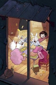 Adventure Time: Fionna & Cake Card Wars #4