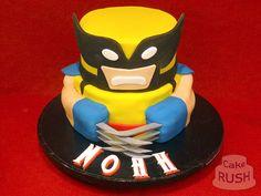 X-men Wolverine cake