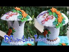 How To Make 3D Origami Peacock V1 | cómo hacer el pavo real V1 del origami 3d - YouTube