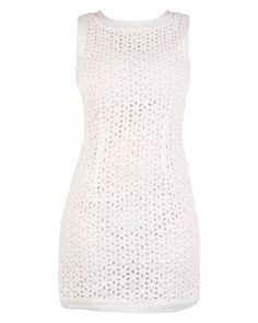 G Couture Anglaise Dress White