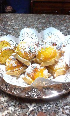 Buon giorno a tutti! Come promesso la rice Italian Desserts, Sweet Desserts, Ricotta, Light Recipes, Cupcake Cookies, Cheesecakes, Food And Drink, Buffet, Sweets