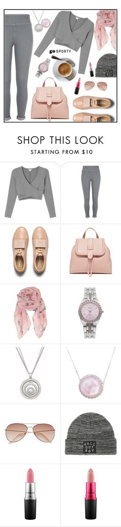 """Ready for a great day"" by kleinwillwin ❤ liked on Polyvore featuring Monki, River Island, Acne Studios, Humble Chic, Studio Time, Chopard, Laura Munder, H&M and MAC Cosmetics"
