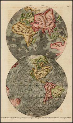 Den Aardkloot nade Zondvloed, in Haar Gebroken Stand, met Bergen en Dalen, Groote Zee-Boesem, en der Selver Eilanden en Ondiepten Vertoond - Barry Lawrence Ruderman Antique Maps Inc.