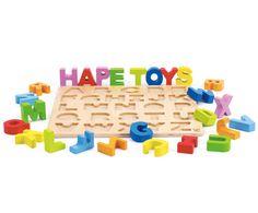 Alfabet Grote Letters Houten Puzzel, Hape Toys