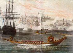Sultans Caique In Bosporus