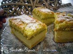 Torta magica al pistacchio con farina di riso