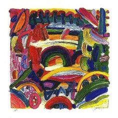 paintings of Gillian Ayres
