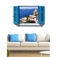 Removable Creative 3D Window Scenery Wall Sticker
