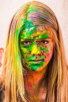 Festival of Colors por Thomas Hawk Holi Pictures, Holi Photo, Hawk Photos, Holi Festival Of Colours, India Colors, Unique Faces, Happy Holi, Color Powder, Indian Festivals