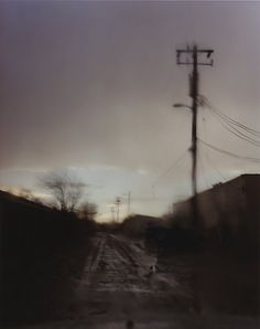 """Todd Hido's chromogenic print """"Untitled #9298"""" (2010) was in the """"Excerpts From Silver Meadows"""" exhibition."""