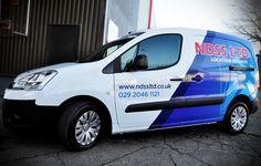 Unser Druckpartner Lieferfahrzeug (Peugeot Partner ...