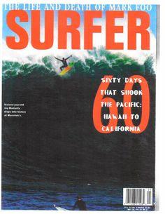 Jay Moriarty drops into history Wipeout at Mavericks Surfer Magazine cover Jay Moriarty, Persiguiendo Mavericks, Mavericks California, Santa Cruz Surf, Surf Mar, Surf News, Soul Surfer, Surfer Magazine, Vintage Surf