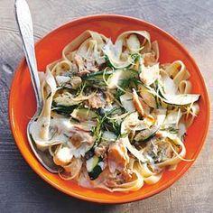 Recept - Tagliatelle met courgette en tonijn - Allerhande