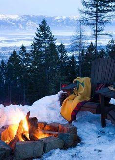 Winter Bonfires