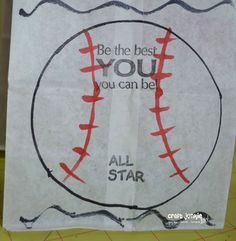Craft Junkie Too: T-Ball Baseball Goodie Bags