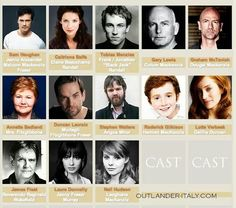 Outlander Cast so far:)