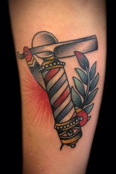 tattoo old school / traditional nautic ink - razor