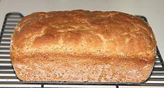 Oat Sandwich Loaf. (skip the honey for low fodmap)