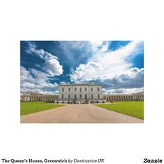 The Queen's House, Greenwich Stretched Canvas Print