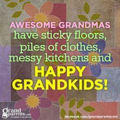 happy grandkids