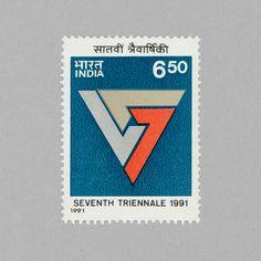 7th Triennale Art Exhibition, New Dehli. India, 1991. Design: TBC