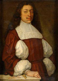 Unbekannter Meister 17./18. Jhdt. Portrait eines Edelherrn. Öl/Lwd./doubl., 97 x 70 cm