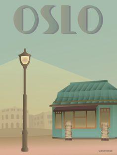 OSLO - Aviskiosken