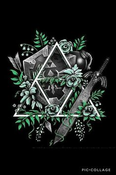 The Legend Of Zelda 680747299901816205 - Source by sophievernede The Legend Of Zelda, Legend Of Zelda Tattoos, Legend Of Zelda Breath, Link Zelda, Gaming Tattoo, Twilight Princess, Breath Of The Wild, Video Game Art, Anime
