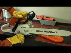 Chainsaw Safety, Operation & Maintenance - YouTube