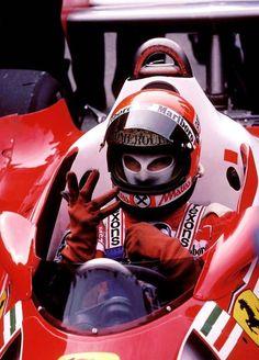 1977 France Grand Prix - Niki Lauda (Ferrari)