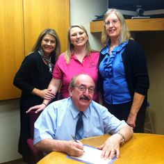 Arkansas Valley Hospice, Inc. La Junta,CO is spreading awareness. Proclamation signing for National Hospice & Palliative Care Month.
