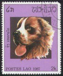 Laos Stamp 1987