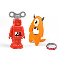 Robot And Monster Opener Set, $20, now featured on Fab.