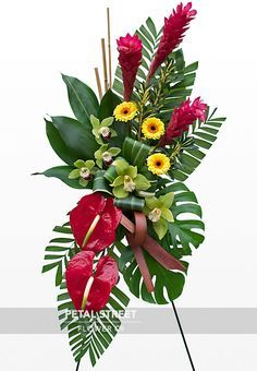 Funeral Flowers on Pinterest | Casket Sprays, Funeral Flower ...