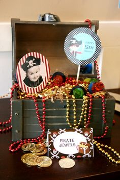 "Photo 1 of 21: Pirate Party / Birthday ""It's a Pirate's Life"" 