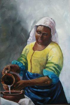 Etude de la lumière chez Vermeer (cours de peinture)