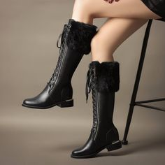 Only at Shoesofexception - Knee High - Tatiana $118.99   #elegant #boots #women #womensfashion #casual #trendy #pumps #shoes