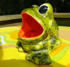 1000 images about frogs big mouth on pinterest sponge holder big mouths and frogs - Frog sponge holder kitchen sink ...