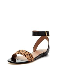 Berry Two-Piece  Flat Sandal by Ava & Aiden at Gilt