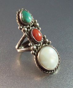 Native American Sterling Ring Southwestern by LynnHislopJewels