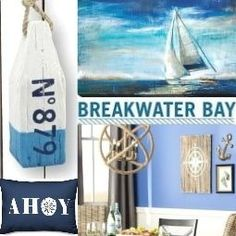 Fun Beach Party Foods for Summer & Birthdays Fun Beach Party Foods for Summer & Birthdays – Coastal Decor Ideas and Interior Design Inspiration Images Nautical Lamps, Nautical Theme, Nautical Style, Beach Bedroom Decor, Beach House Decor, Coastal Style, Coastal Decor, Coastal Paint, Beach Fun
