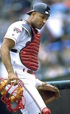 Sandy Alomar Jr. - One of my favorites.  Grandpa said if you have a great catcher, you'll have a great team.