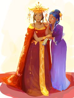 Cinder & Iko by ana-dante I've never seen art of them in the eastern commonwealth after the events of tlc and I love it