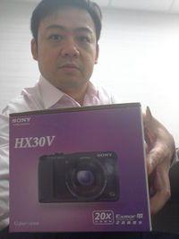 SONY HX30V 20倍光學高畫質數位相機 公司貨【黑色】 ,得標價格559元,最後贏家超人達:快標網讚!!!超讚的相機可以拍出美美的相片歐~