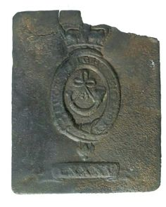 Shoulder Belt Plate of the British 85th Regiment of Foot, excavated near the Battlefield of New Orleans