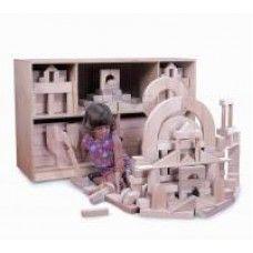 Wooden Blocks: Quarter Unit Block Set - 2 Cartons