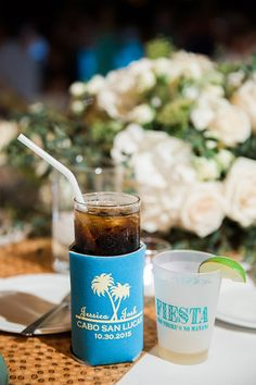 koozie favors and tequilla shots Happy Day, Are You Happy, Wedding Gifts For Guests, Moscow Mule Mugs, Favors, How To Memorize Things, Shots, Tableware, Ideas