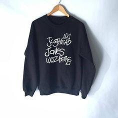 Jughead Jones Wuz Here Sweatshirt Riverdale High School
