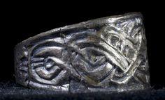 Historical Archive: Zamárdi-Rétiföldek grave 517  Grave goods from female burial (not full inventory), 7th century. Rippl-Rónai Múzeum, Kaposvár, Hungary